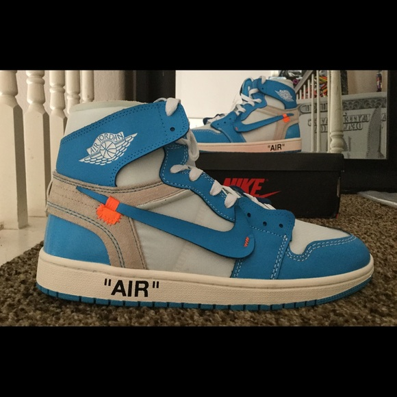 592296944b9 Off-White Shoes | Off White Air Jordan Retro 1 Unc Size 10 | Poshmark